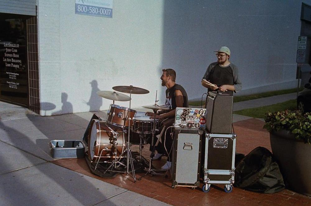 Street drumming from @duprebrando.