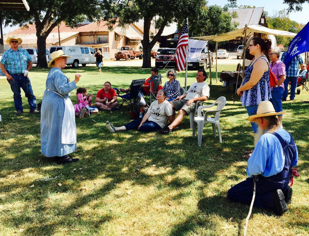 @dentonaut learned about the 150 year history of neighboring Aubrey, TX.