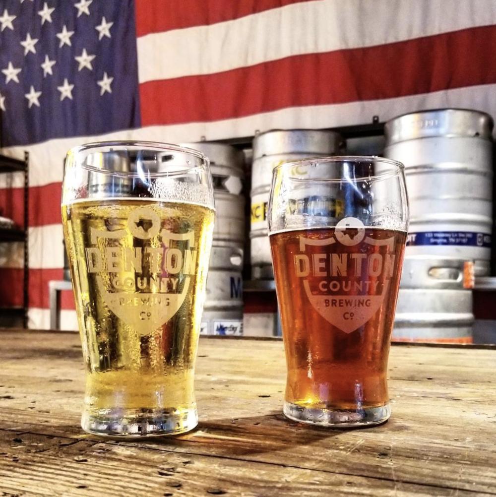 @greatamericanbrewerytour at Denton County Brewing Co.