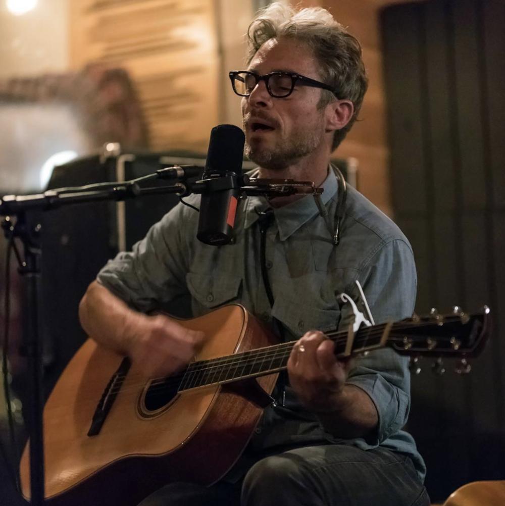 Doug Burr playing Redwood Studio. @thepsychogeoff