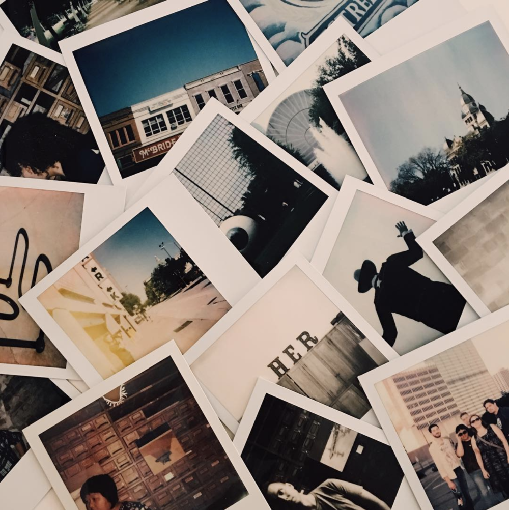 @ajleaps with some instant photos from last week's Polacon event.