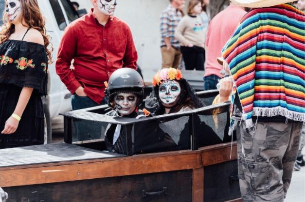 Denton's the only city in which strapping your children into a coffin with wheels and pushing them down a hill is celebrated.Photo by @andrewbwelchphoto.