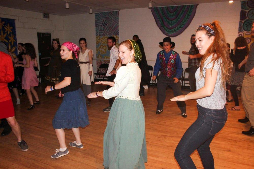 Dance with the Denton Swing Dance Organization on Saturday!