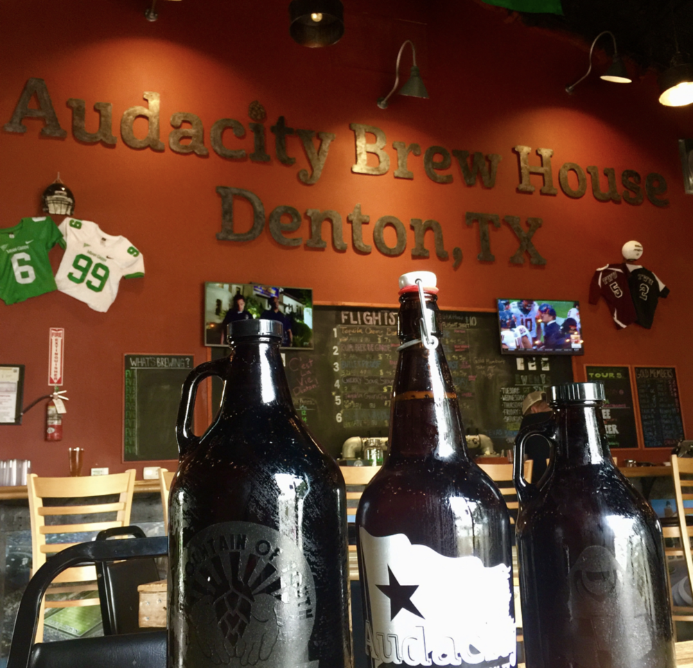 Denton said goodbye to a dear friend over the weekend when Audacity Brew House poured their last brew. Photo by @veronica_n_denton.