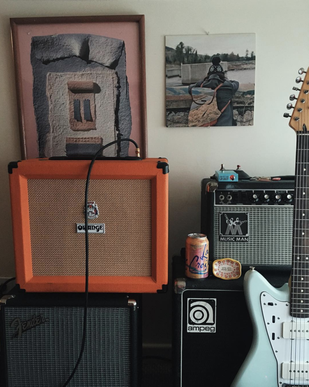 @stationaries_ knows that musicians should always match their La Croix flavor to their amp brand.