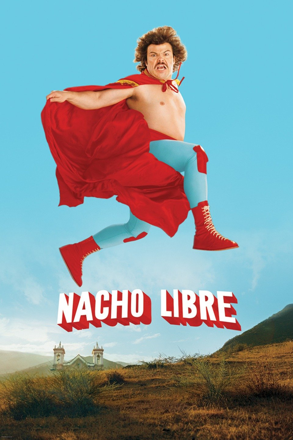 Catch Nacho Libre on the square on Saturday night!