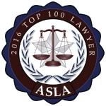 Named one of Ohio's 100 best criminal defense attorneys for 2016 by           the   American Society of Legal Advocates