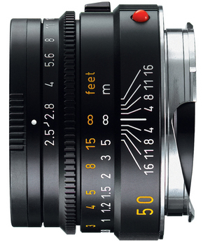 Leica 50mm f/2.5 Summarit Lens