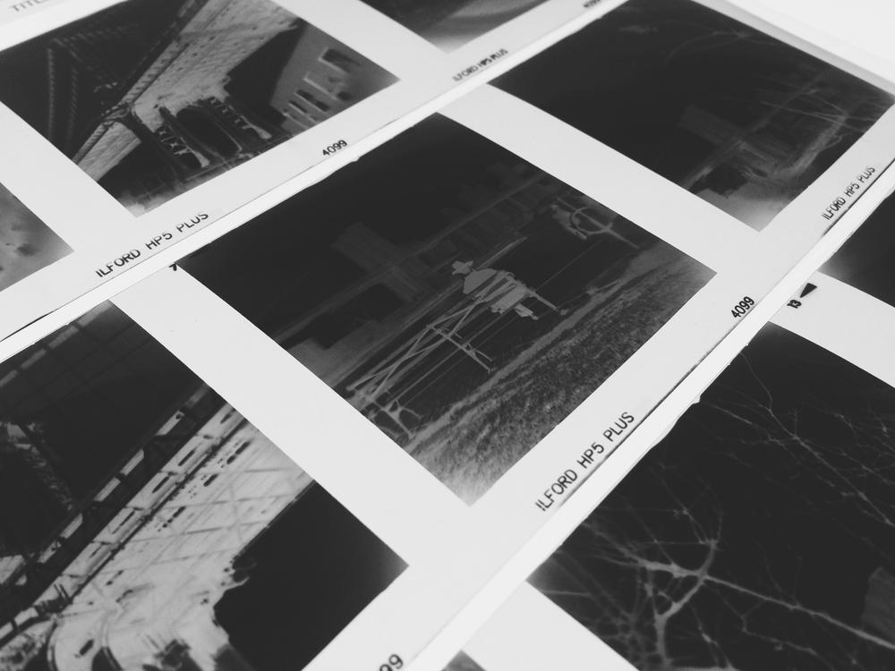 Sheet Film Processing Black White Film Processing