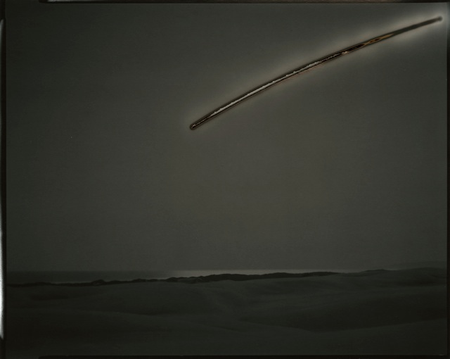 Sunburned GSP#308 (Oceano), Chris McCaw 2008 8″x10″ unique gelatin silver paper negative