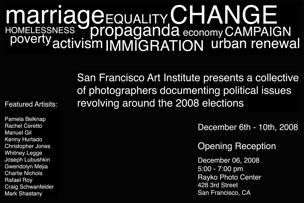 SFAI Collective SIDE GALLERY: 12.6.08 - 12.10.08