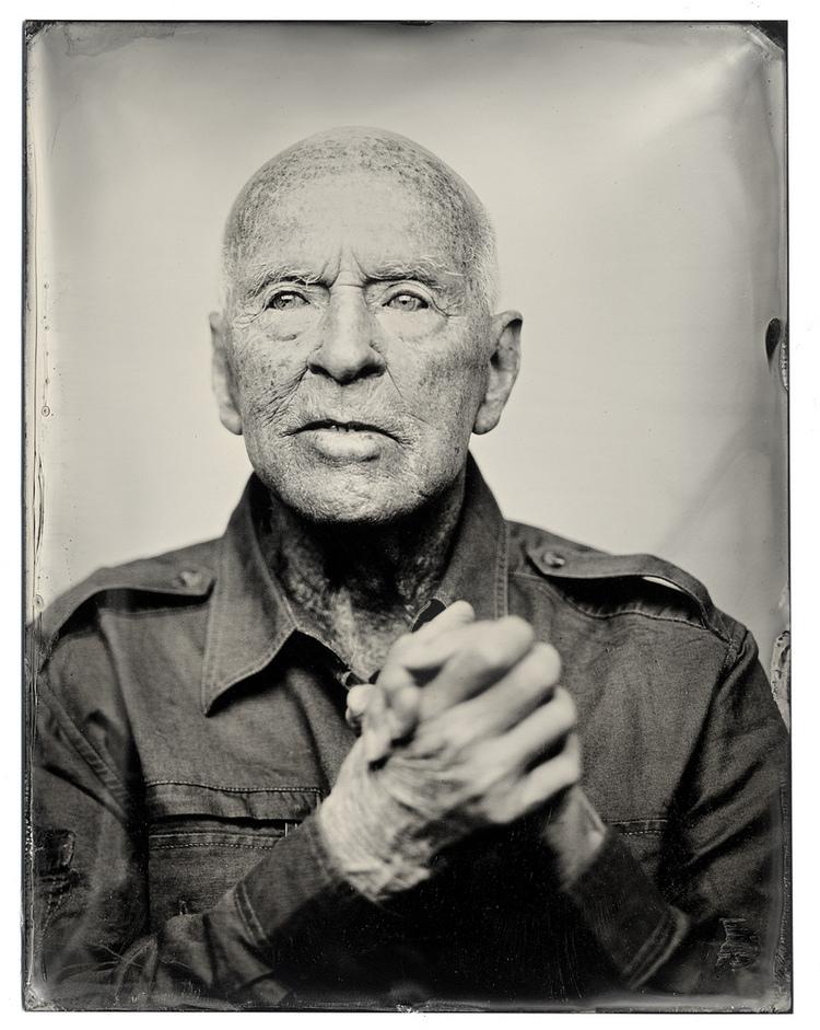 Tintype Portrait - Carlos Arrieta