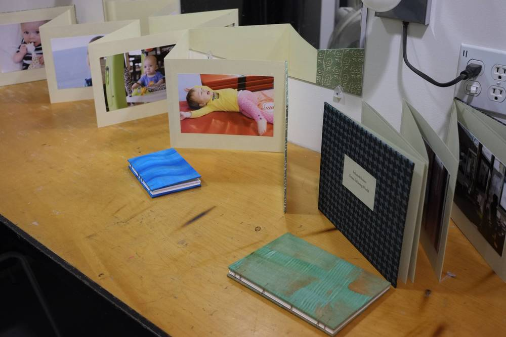 From RayKo' s 2013 Intro to Bookbinding Class