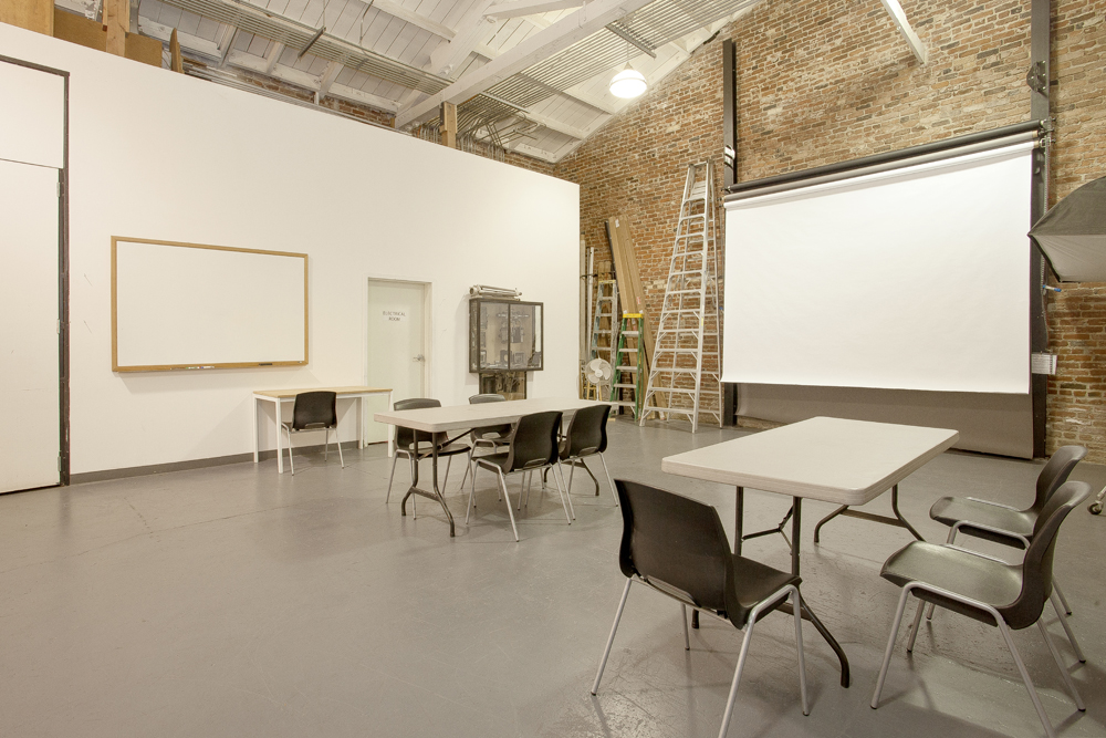 Studio Space can also be rented for your event at an additional cost