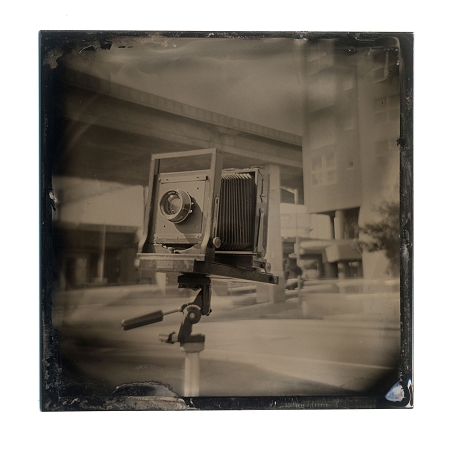 Plastic Camera to Tintype