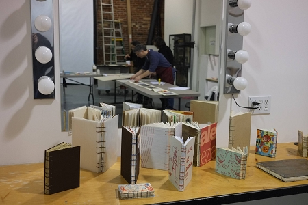 Books made by past workshop participants