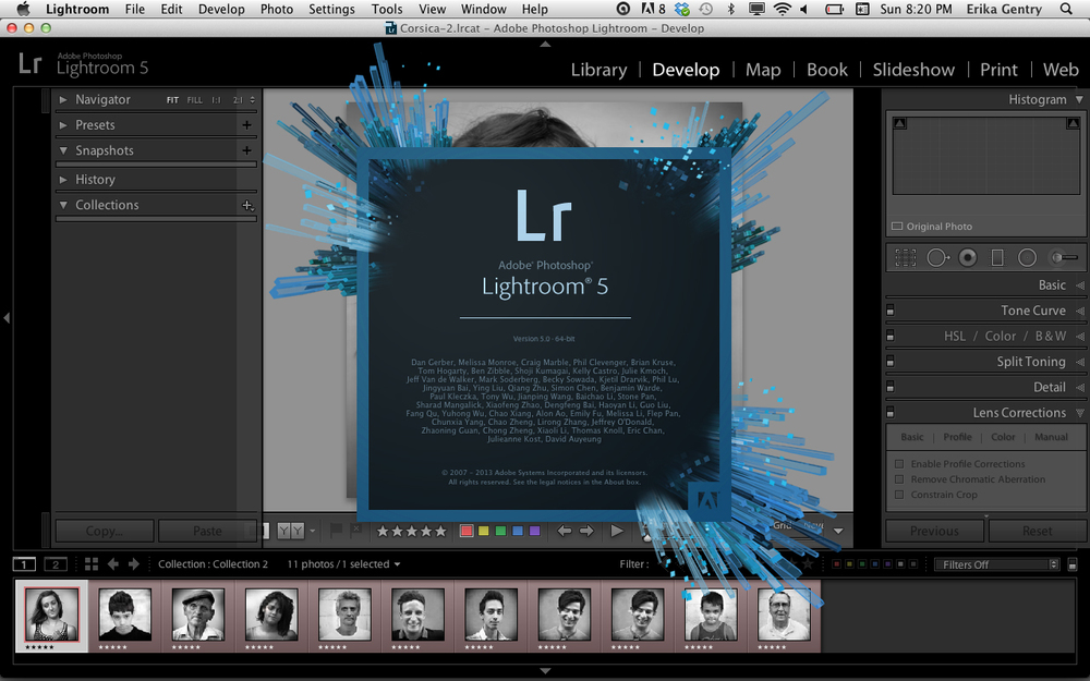 Adobe Lightroom,     Level 1