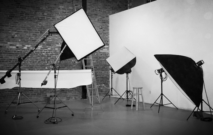 Black And White Photo Studio