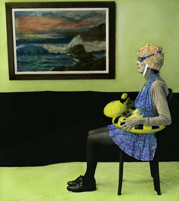 """from the series, """"Arrangement in Green and Black: Portraits of the Artist's Mother"""""""
