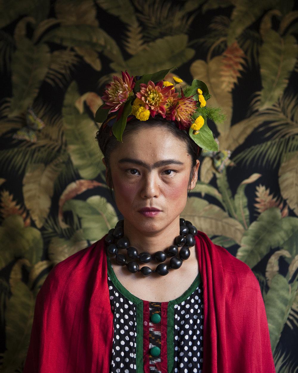 Atsuko Morita, Self as Frida Kahlo