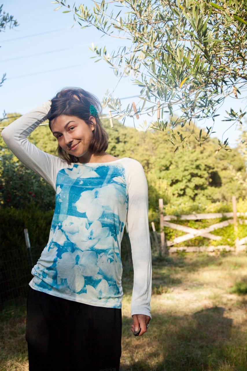 Cyanotype to Textile -