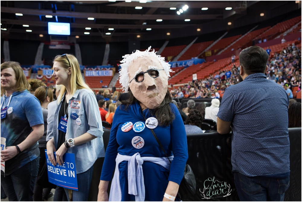 Bernie-Sanders-Supporter-Wears-Bernie-Mask