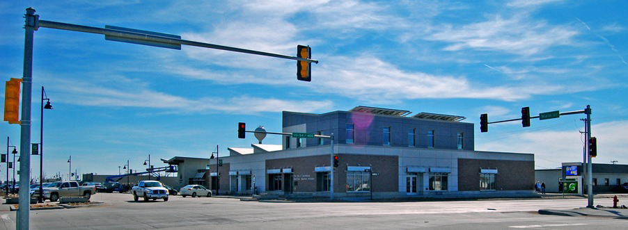 SunChips Business Incubator, LEED Platinum, and Main Street - Greensburg, Kansas