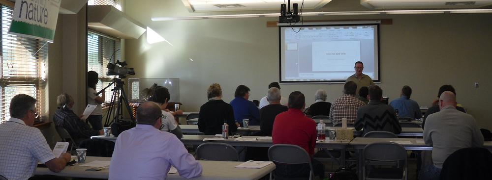 Builders workshop hosted by GreenTown Joplin held in Joplin, Missouri