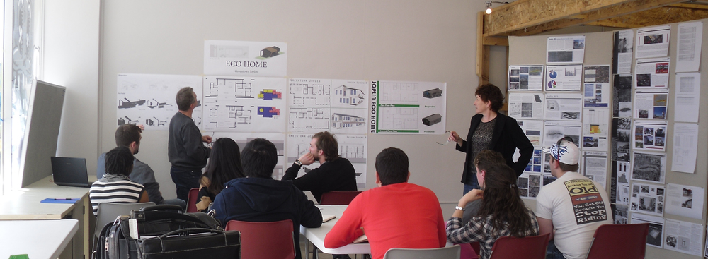 Drury University Hammons School of Architecture students present sustainable home designs - Springfield, Missouri