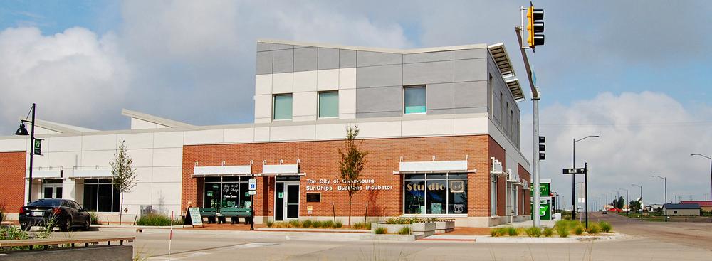 SunChips Business Incubator, LEED Platinum - Greensburg, Kansas