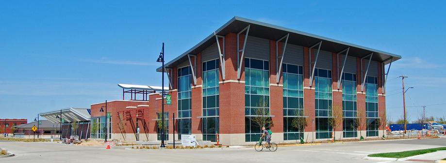 Kiowa County Commons, LEED Platinum - Greensburg, Kansas
