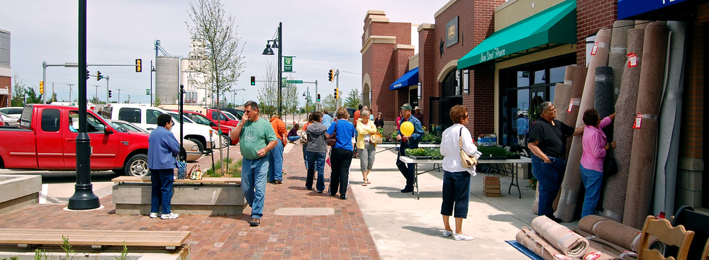 Main Street businesses - Greensburg, Kansas