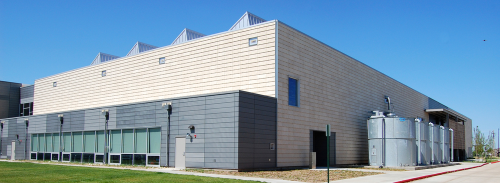 Kiowa County Schools, LEED Platinum,  rainwater collection cisterns - Greensburg, Kansas