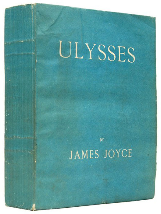 Original 1922 edition of Ulysses by James Joyce,