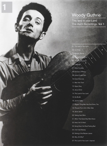 Woody Guthrie 'The Asch Recordings Vol. 1'