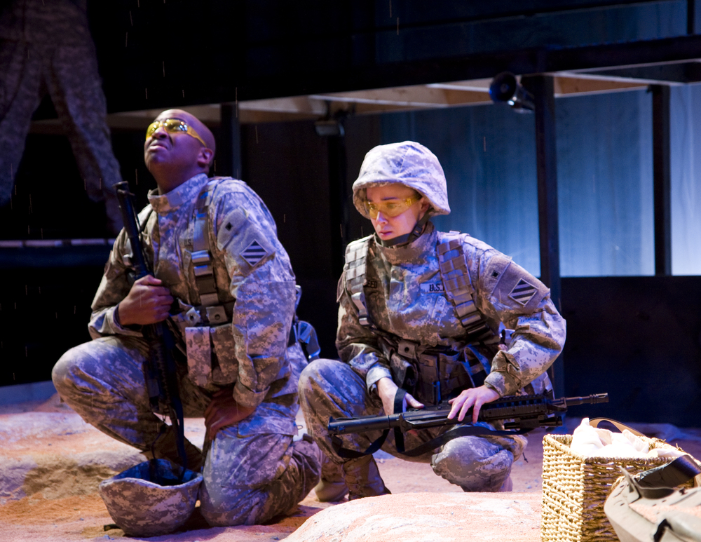 Militant Language: A Play With Sand    by Sean Christopher Lewis (World Premiere)