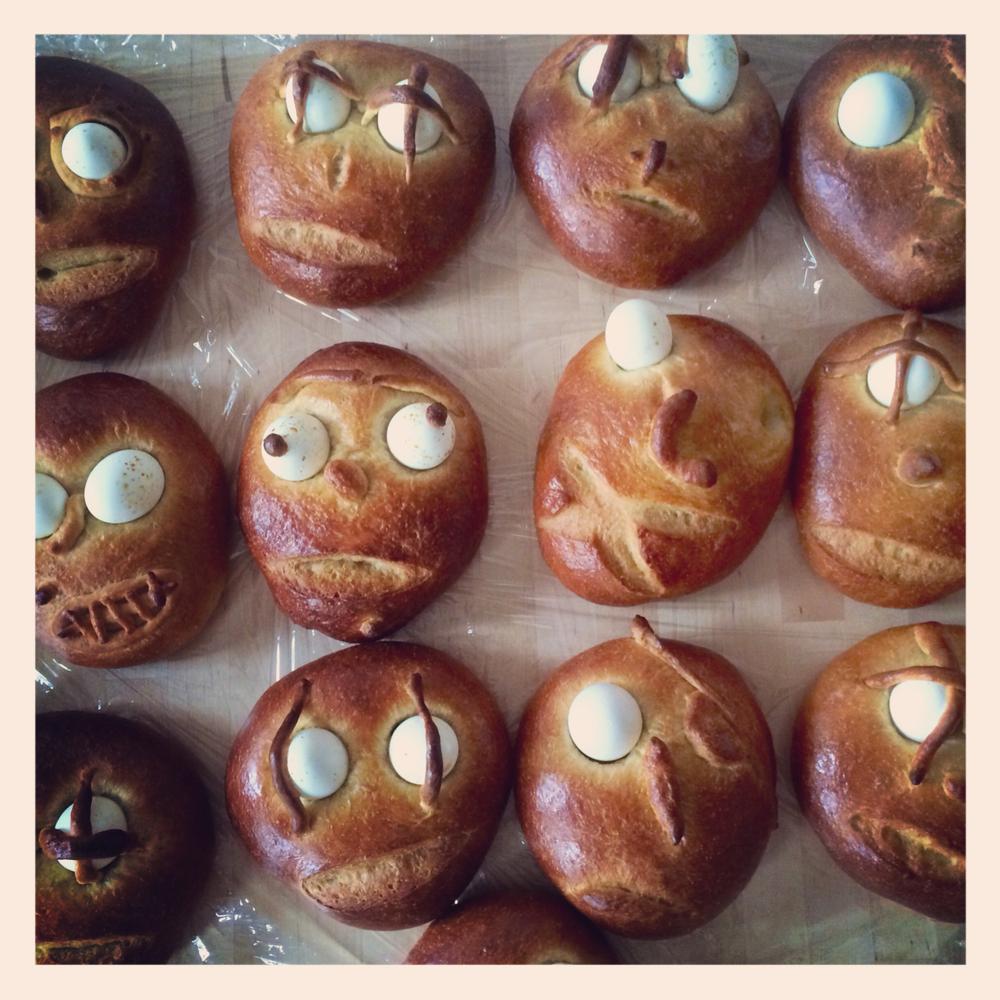 "Traditional ""Haman"" bread"