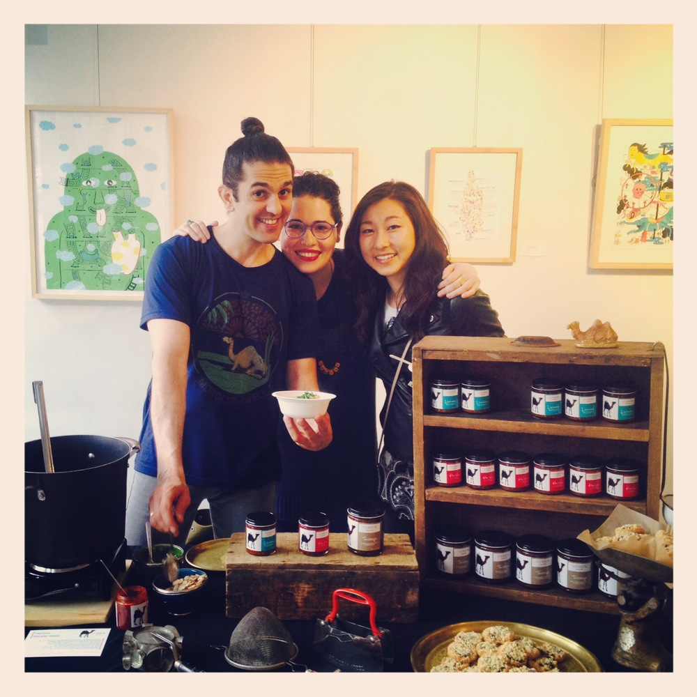 LA- BOITE spice shop, NYC Pop-Up, 2014