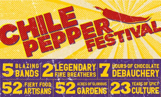 CHILE PEPPER FESTIVAL, NYC Brooklyn Botanic Gardens, 2015