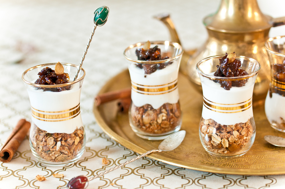 Tanzeya, Yogurt & Home Made Granola Dessert Cups