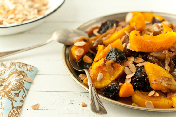 Roasted Butternut Squash With Tanzeya