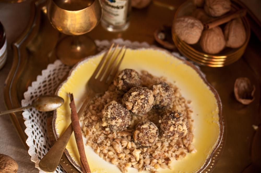 Tanzeya & Walnuts  Truffles