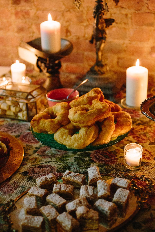 Moroccan Sfenj Doughnut Class for Hanukkah  Bedford Stuyvesant,  NYC, 2016