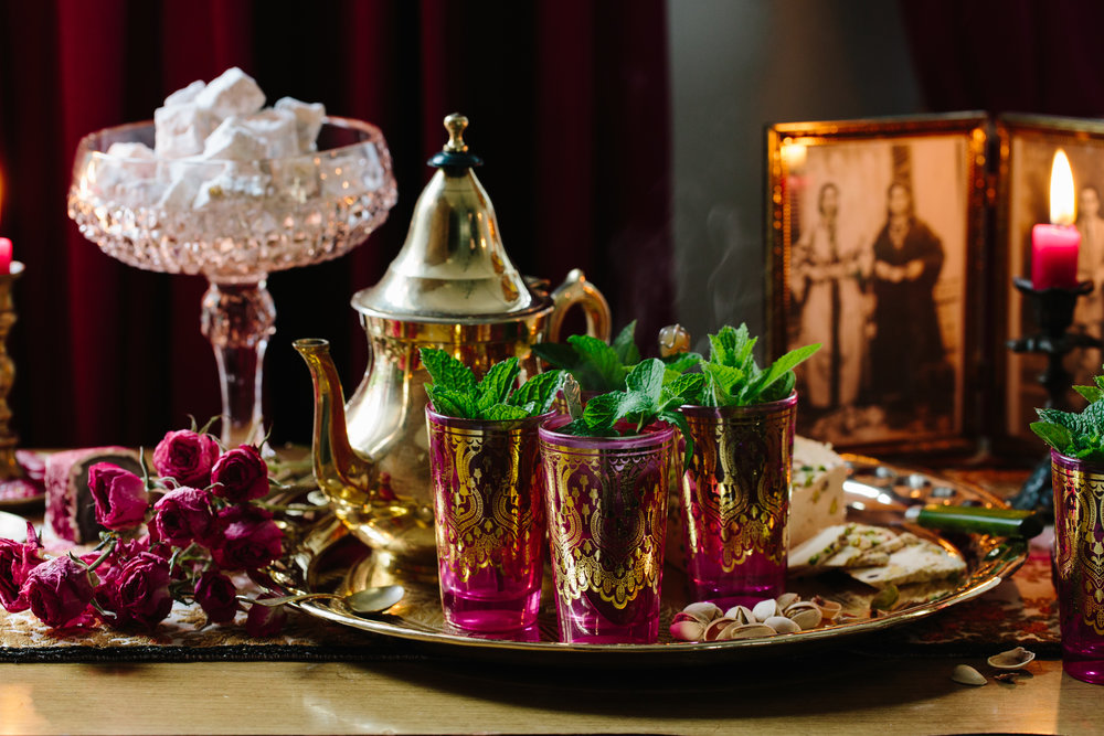 eed8766d356 Traditional and Beautiful Moroccan Tea Set