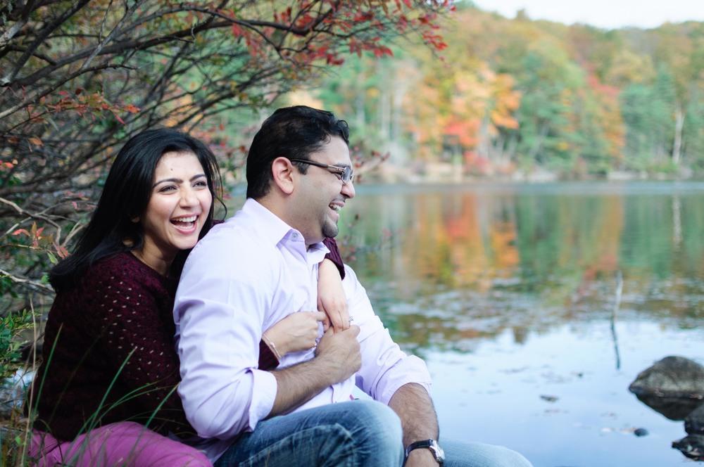 Nirmal made us all laugh a lot during the shoot! It is fairly easy to get close to the lakes.