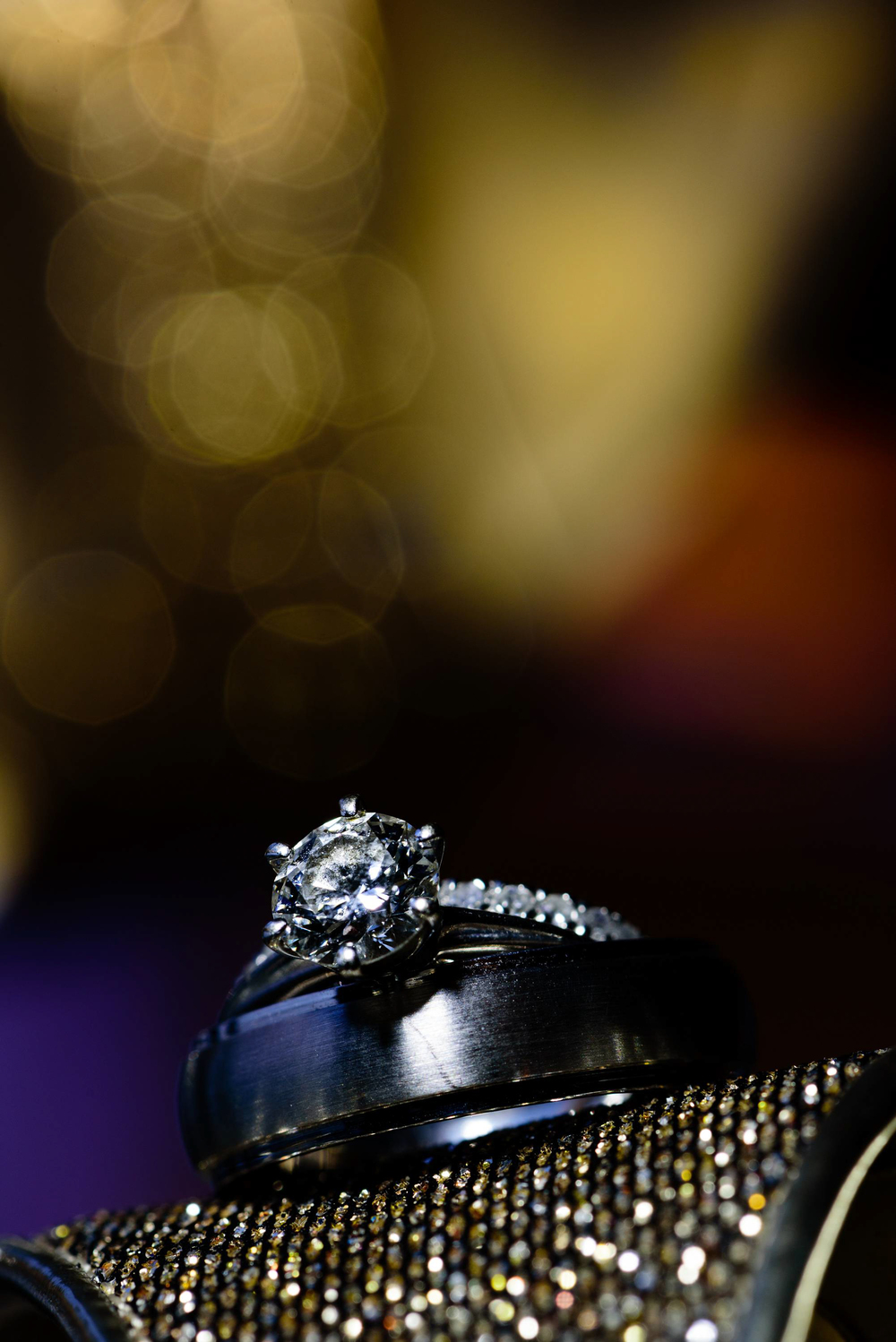 We love photographing details and always find a creative way to photograph engagement rings & wedding bands.