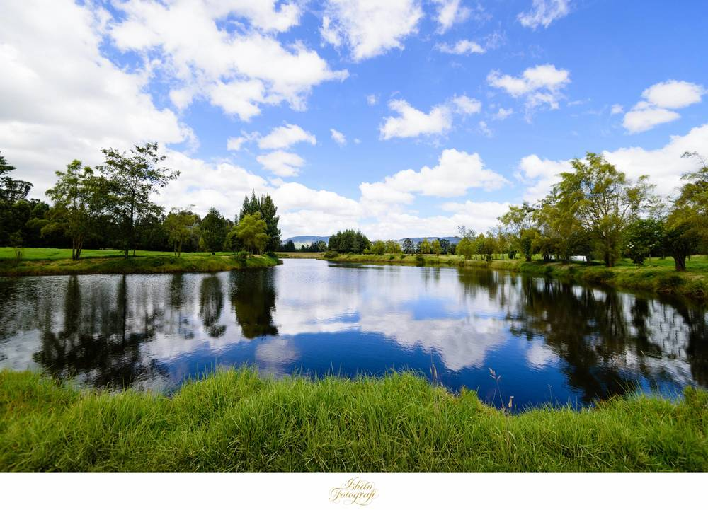 Paul & Julie were blessed with a beautiful summer day for their destination wedding. The landscapes around the location were equally stunning.
