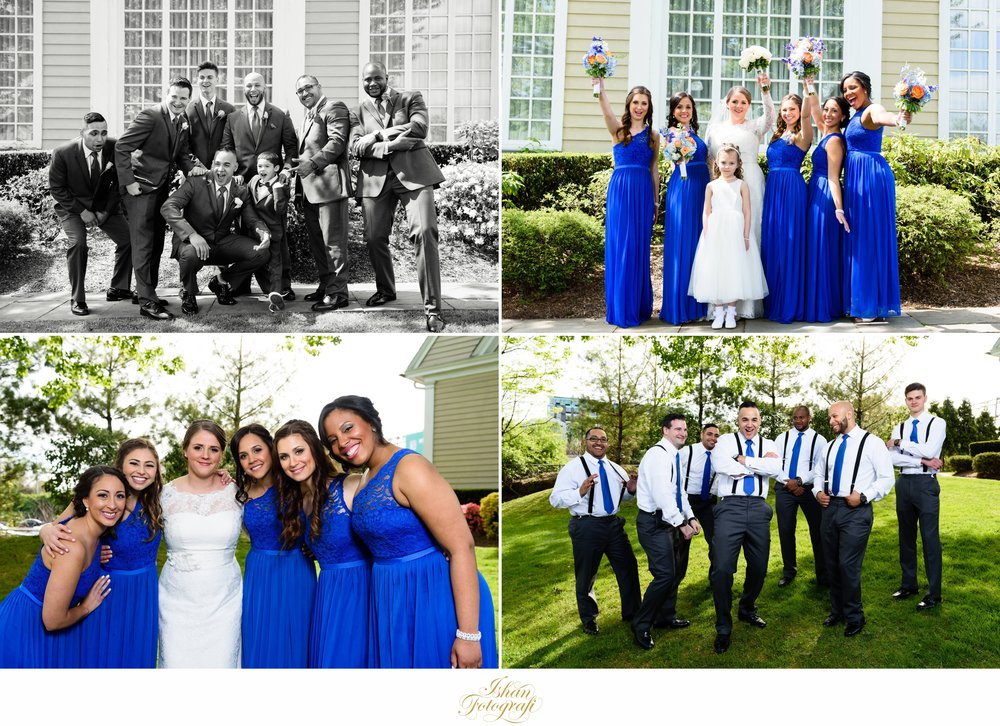 Amanda & Jeffrey had such a fun loving and amazing bridal party! Everyone was just so happy to be present celebrating our lovely couple's wedding day. This made our job as photographers so much more exciting! Such genuine moments cannot be posed.