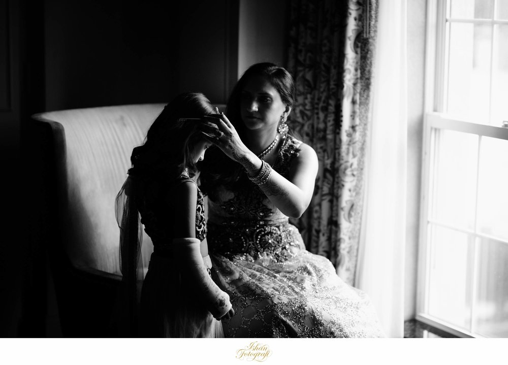 Before we headed for their portraits we caught this beautiful moment between the bride and her daughter.