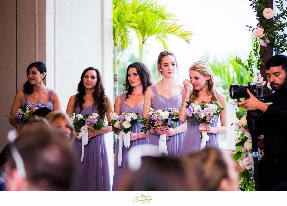 maid-of-honor-outdoor-wedding-ceremony-marco-ocean-beach-resort